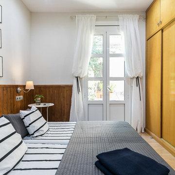 Dormitorio Principal vivienda Vila de Gracia