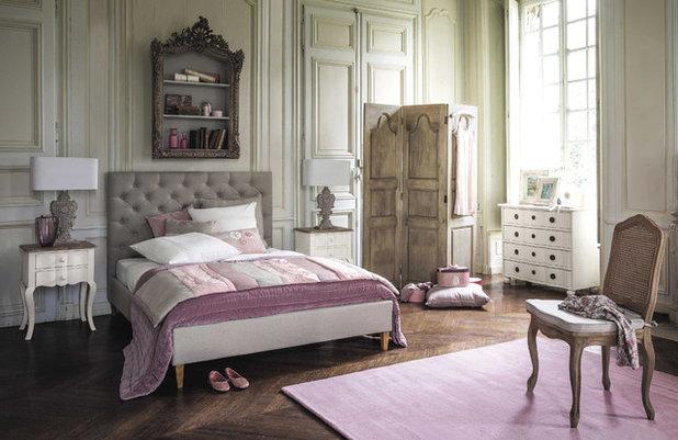 Color en el dormitorio: usa el gris y el rosa palo para estar a la ...
