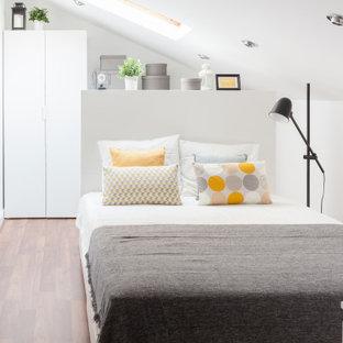Modelo de dormitorio abovedado escandinavo