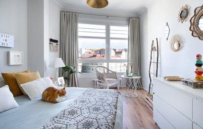 Casas Houzz: El coqueto piso de una interiorista en A Coruña