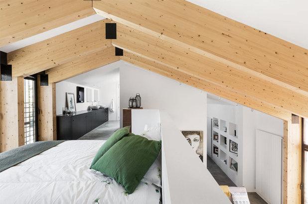 Contemporary Bedroom by La Reina Obrera - Arquitectura e Interiorismo