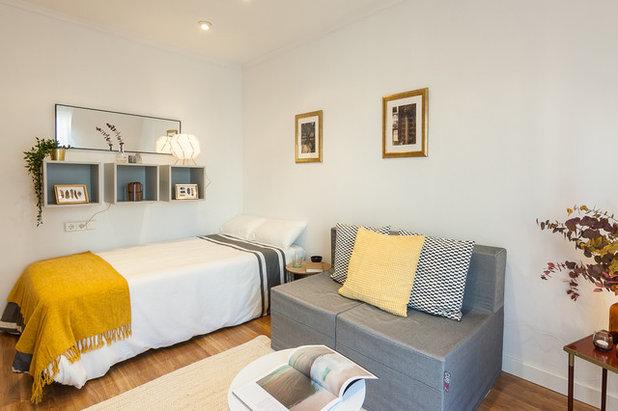 Contemporáneo Dormitorio by Encarni Martínez HOME Staging