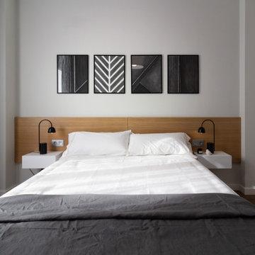 Interiorismo y decoración de dormitorio principal