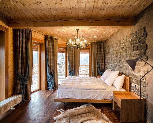 Fotos de dormitorios dise os de dormitorios de estilo de - Cortinas para casas de campo ...