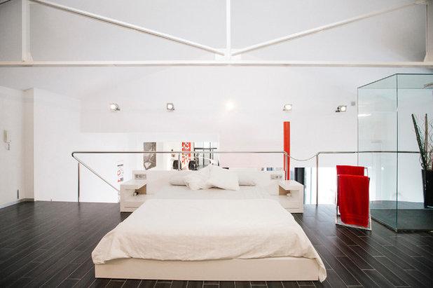 Contemporáneo Dormitorio by estudio fandi