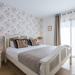 75 Most Por Shabby-Chic Style Bedroom with Marble Flooring ... Marble Flooring Designs For Bedroom on bamboo flooring bedroom, laminate wood flooring bedroom, parquet flooring bedroom, wood tile flooring bedroom, cork flooring bedroom, linoleum flooring bedroom, oak flooring bedroom,
