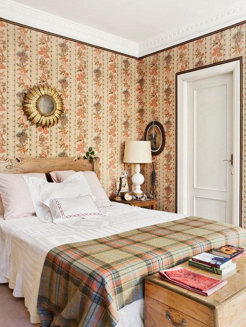 Papel pintado dormitorio principal awesome un tono - Papel pintado dormitorio principal ...