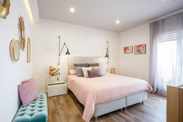 Romántico Dormitorio by 08130 ESTUDI DE DISSENY