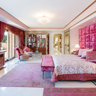 75 Beautiful Pink Master Bedroom Pictures & Ideas   Houzz