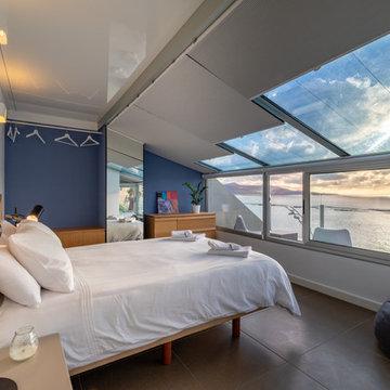 Reforma de vivienda vacacional Rooftop Suite, Living Las Canteras