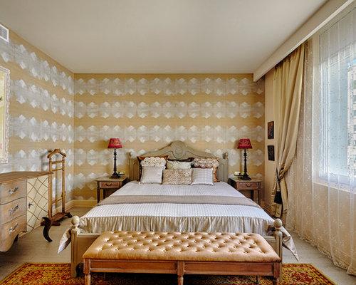 Dormitorio con papel pintado ideas y fotos houzz - Ideas papel pintado dormitorio ...