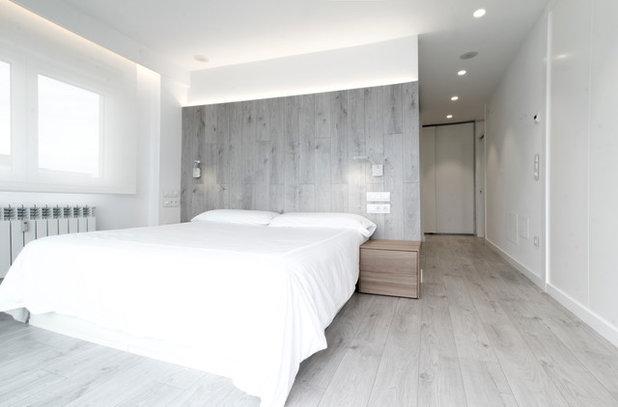 Moderno Dormitorio by Borja Alvarez. Arquitecto.