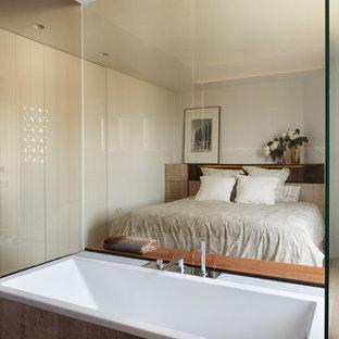 Diseño de dormitorio principal actual