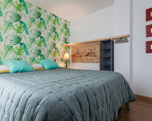 Tropical Bedroom Design Ideas Renovations Photos With
