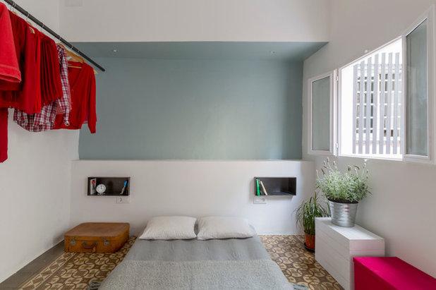 Ecléctico Dormitorio by Nook Architects