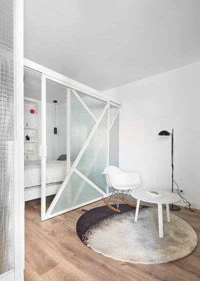Contemporáneo Dormitorio by Raúl sánchez Architects