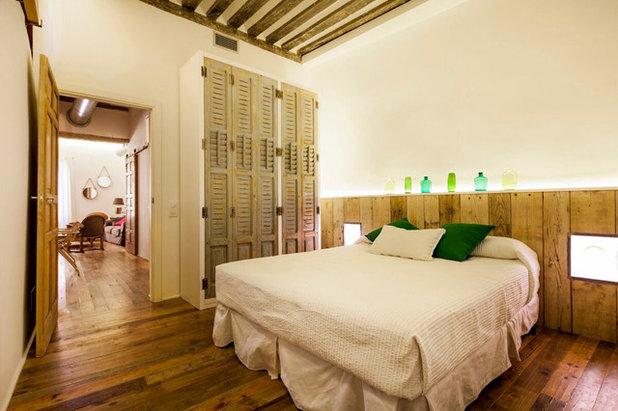 Ecléctico Dormitorio by The Sibarist Property & Homes