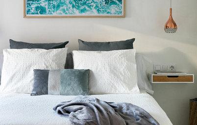 Sängbord med smart förvaring