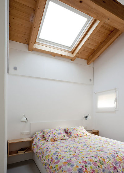 Contemporáneo Dormitorio by pura arquitectura