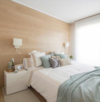 コンテンポラリー 寝室 by NATALIA ZUBIZARRETA INTERIORISMO