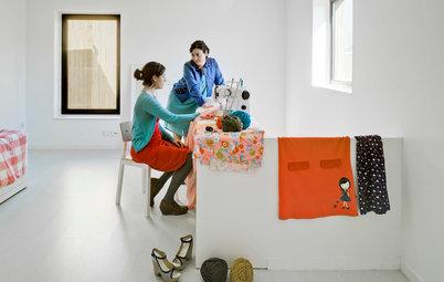 Casas Houzz: Una vivienda para tres hermanas (y sus familias) en Murcia