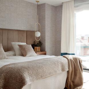 Inspiration för ett maritimt sovrum