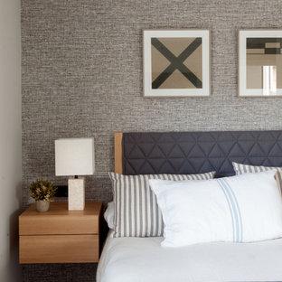 Пример оригинального дизайна: спальня в морском стиле
