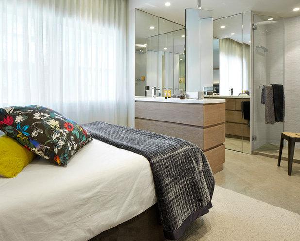 Contemporáneo Dormitorio by MOLINS DESIGN
