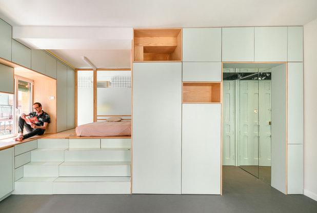 Contemporaneo Camera da Letto by elii - oficina de arquitectura