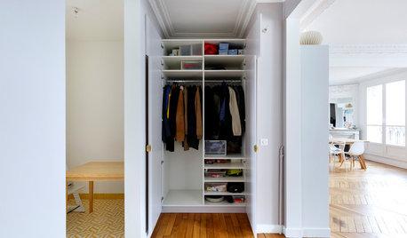 15 astuces malignes pour aménager un placard à habits