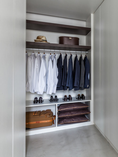 Closet Design Ideas, Remodels & Photos with White Cabinets and ...