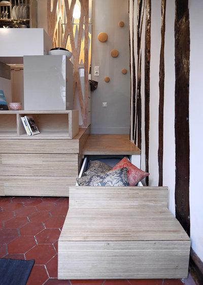 Contemporain Armoire et Dressing by Julie Nabucet Architectures