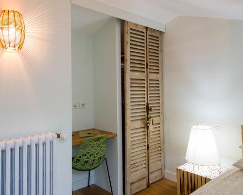armoires et dressings avec des portes de placard en bois. Black Bedroom Furniture Sets. Home Design Ideas