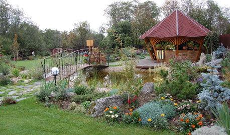 Проект недели: Сад, в котором дом «стоит» на цветнике