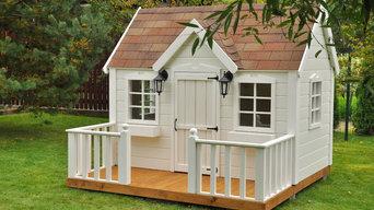 Детский домик из дерева - Вилладж