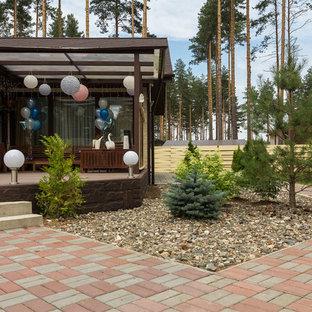 Новый формат декора квартиры: дворик в современном стиле