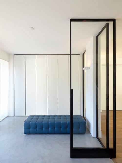 modern entryway design ideas remodels photos. Black Bedroom Furniture Sets. Home Design Ideas