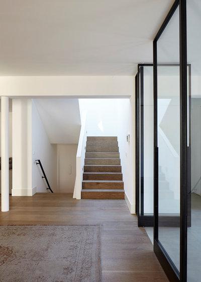 Modern Eingang by falke architekten