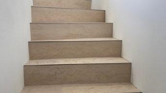 Fugenlose Treppen