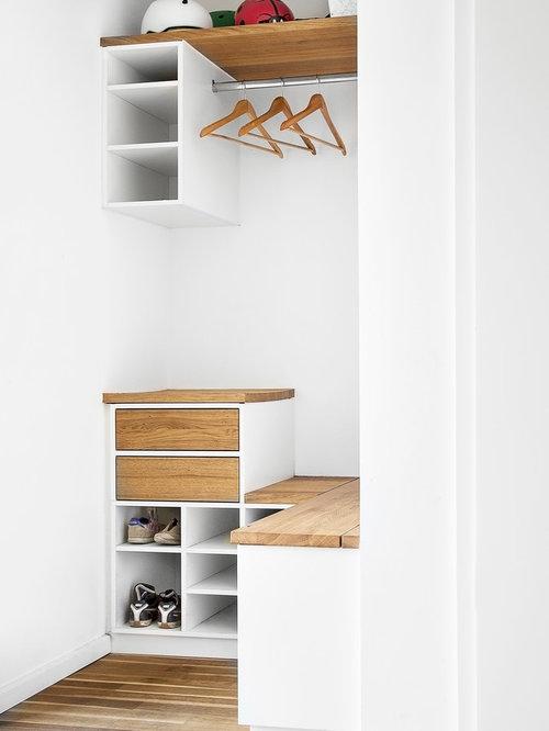 reach in closet design ideas remodels photos