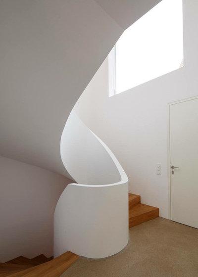 Contemporáneo Entrada by falke architekten