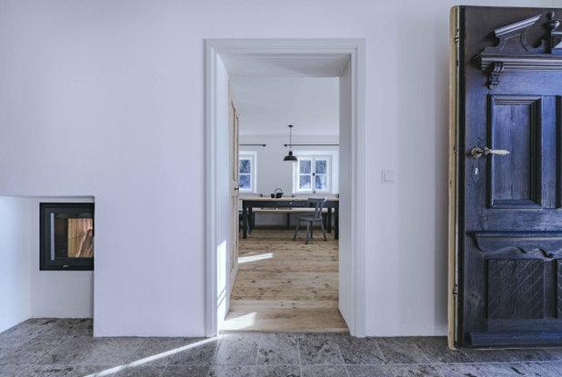 Rustikal Eingang by BUERO PHILIPP MOELLER