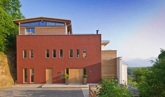 Neubau Einfamilienhaus Felsenhanglage