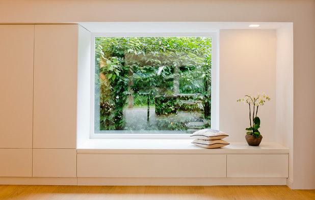 Modern Eingang by Ferreira | Verfürth Architekten