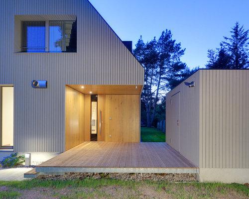moderner eingang: ideen für hauseingang & eingangsbereich, Wohnideen design