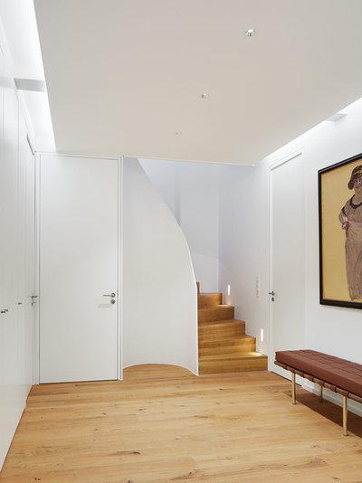 Modern Eingang by fluidlab architektur design