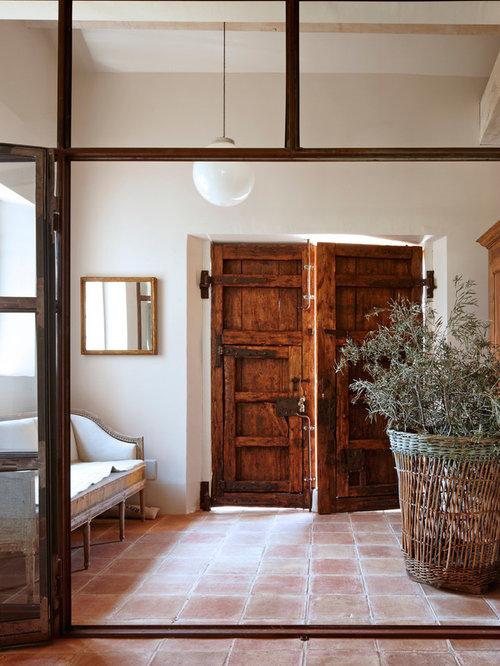 Fotos de entradas dise os de entradas de estilo de casa - Entradas de casas de campo ...