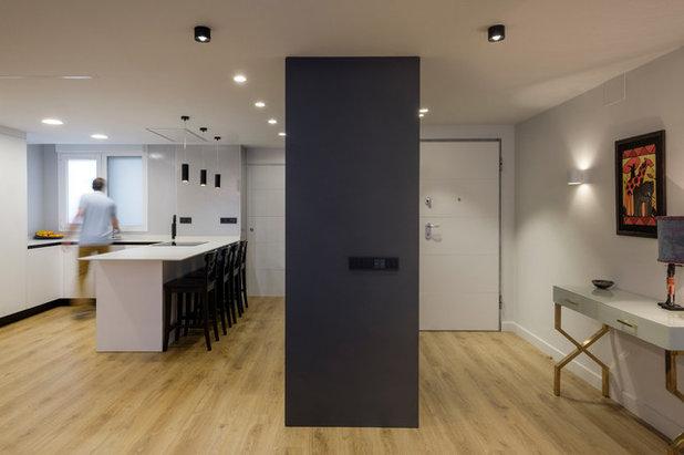Contemporáneo Entrada by dCMarquitectura