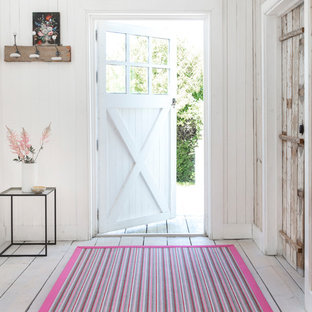 Alternative Flooring - Custom made striped runner