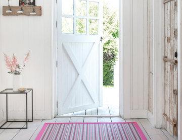 Alternative Flooring - Custom made striped runner